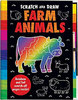 SCRATCH AND DRAW FARM ANIMALS