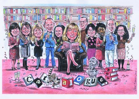 300th Catalogue celebrations began with a specially commissioned cartoon by Dave James who has cartooned the team for 30 years!\\n\\n22/05/2012 12:02