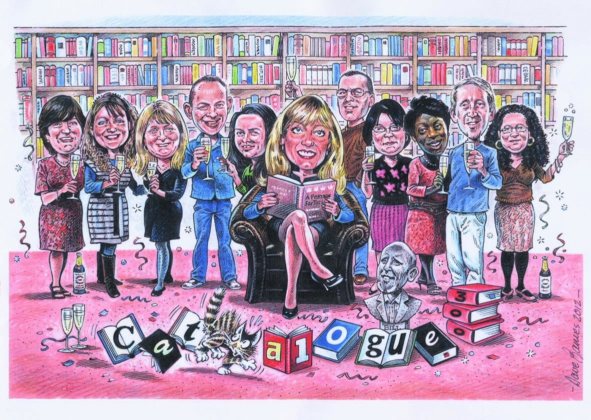 300th Catalogue celebrations began with a commissioned cartoon by Dave James who has cartooned the team for 30 years!\\n\\n22/05/2012 13:49
