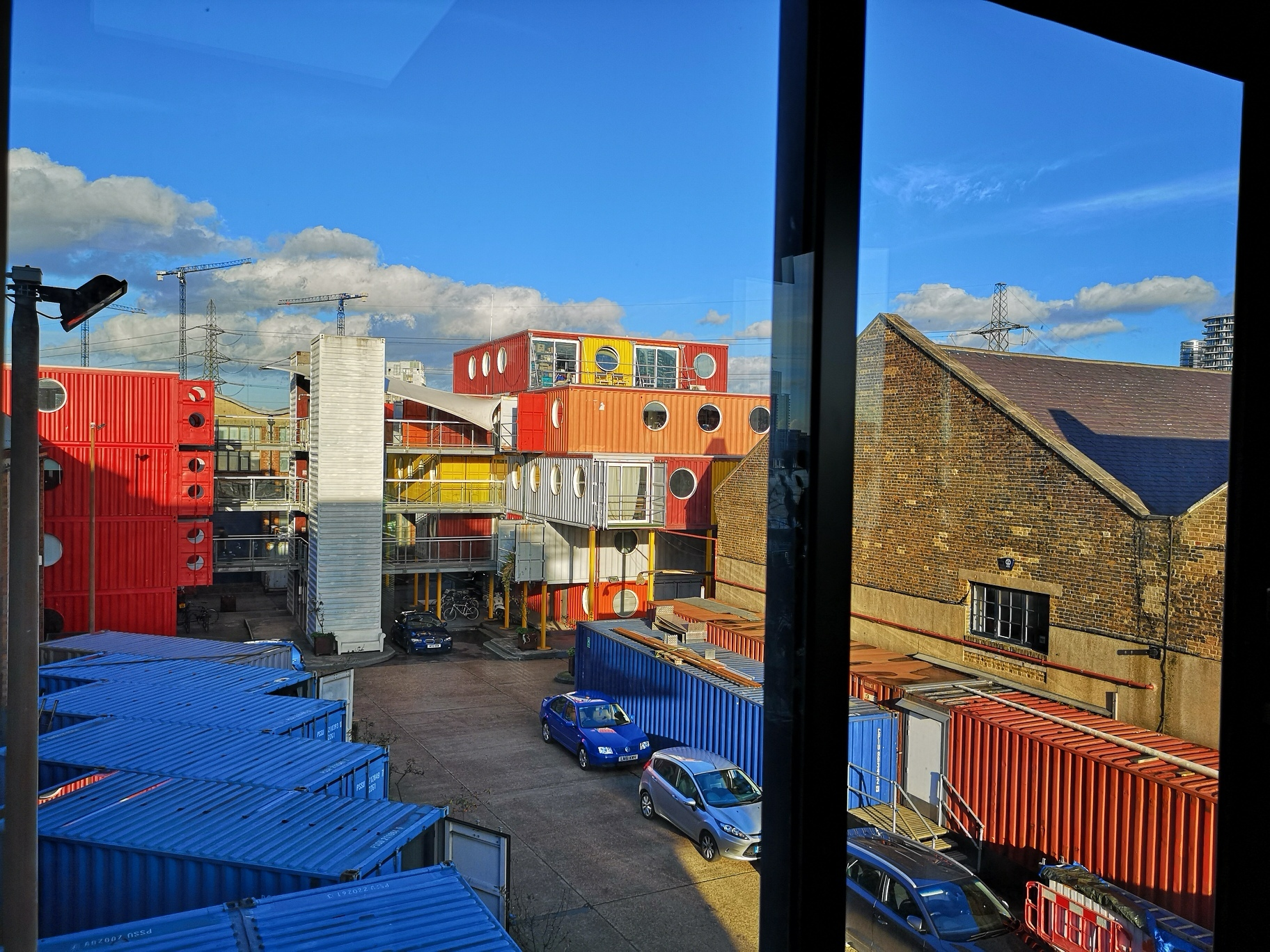Trinity_Buoy_Wharf_Office_window_view_Container_City