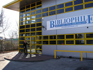 Bibliophile warehouse